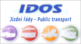 IDOS - vlaky, autobusy, MHD - jízdní řády